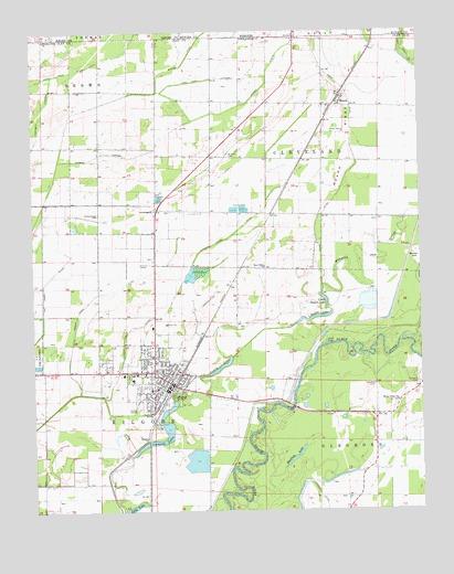 Corning, AR Topographic Map   TopoQuest