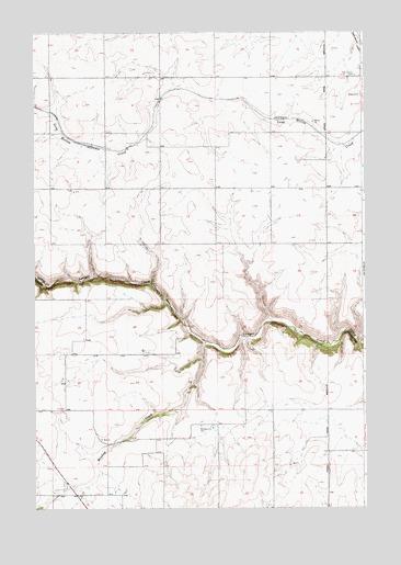 Cottonwood NE ID Topographic Map  TopoQuest