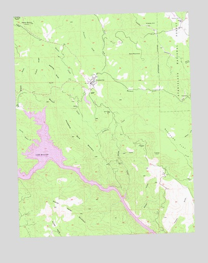 Coulterville, CA USGS Topographic Map