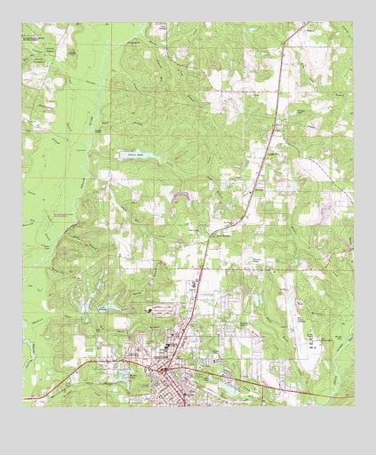 Crestview North Fl Topographic Map Topoquest