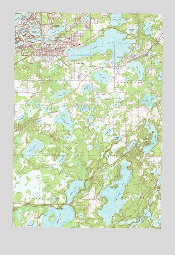 Crosby, MN USGS Topographic Map