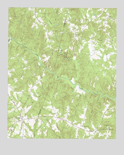 Cross Anchor, SC USGS Topographic Map