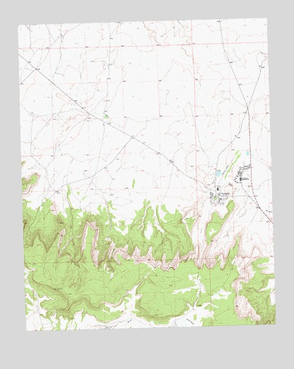 Crownpoint, NM USGS Topographic Map