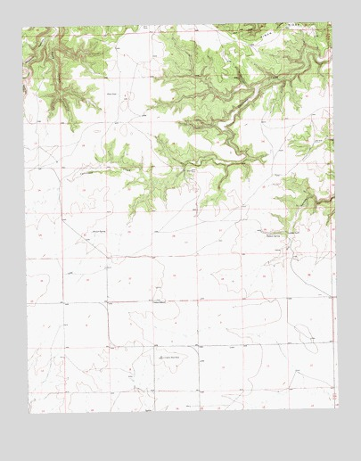 Cuates School, NM USGS Topographic Map