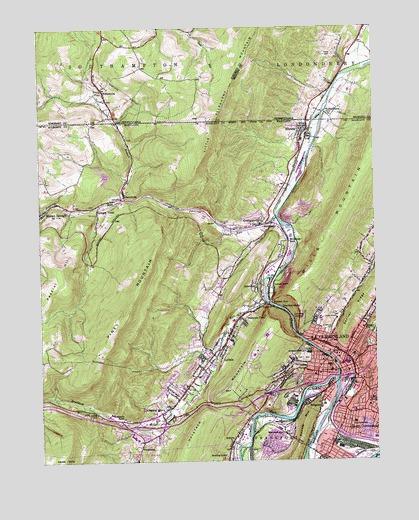 Cumberland, MD Topographic Map - TopoQuest
