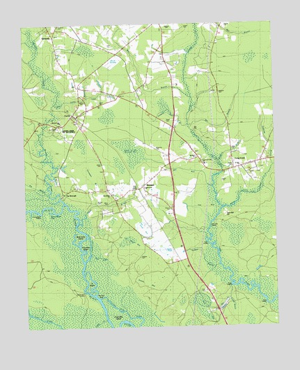 Currie, NC Topographic Map   TopoQuest