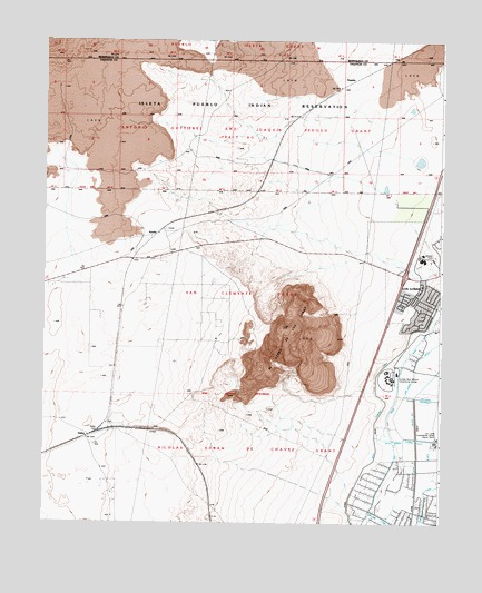 Dalies, NM USGS Topographic Map