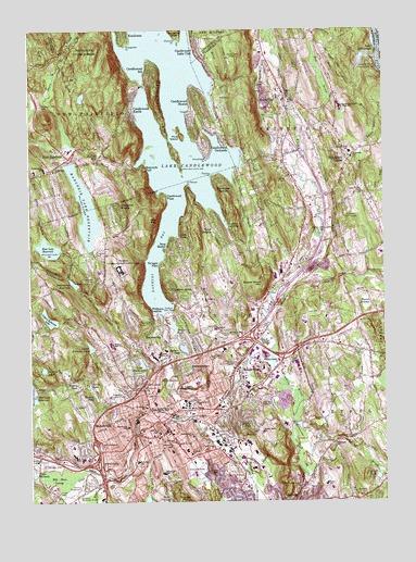 Topographic Map Ct.Danbury Ct Topographic Map Topoquest