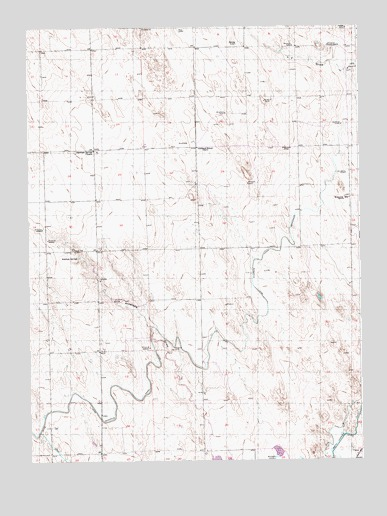 Antelope Springs, CO USGS Topographic Map
