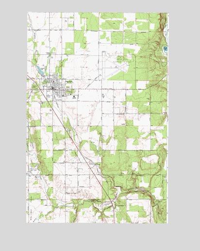 Deer Park, WA Topographic Map - TopoQuest on
