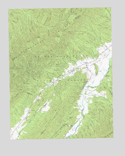 Image result for shenandoah valley virginia usgs map 1962