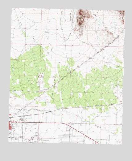 Deming East, NM USGS Topographic Map