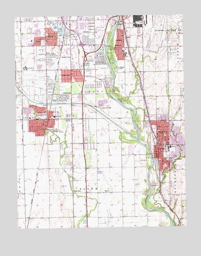 Derby, KS Topographic Map - TopoQuest