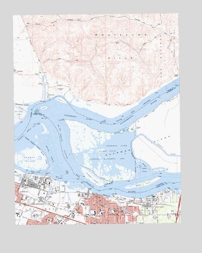 Antioch North, CA Topographic Map - TopoQuest