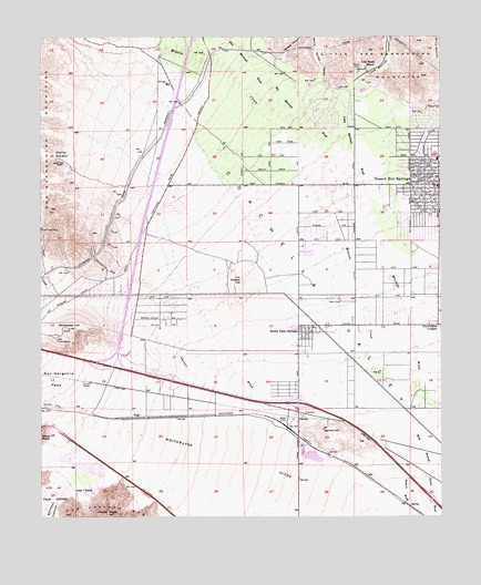 Desert Hot Springs CA Topographic Map  TopoQuest