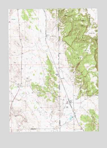 Dewey, SD USGS Topographic Map