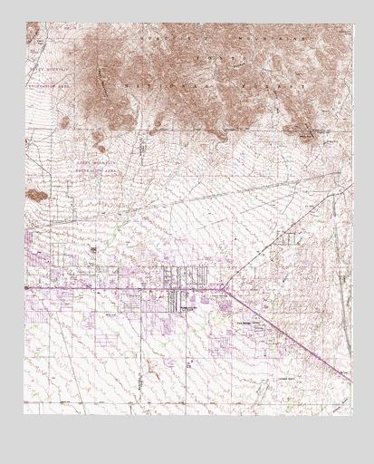 Apache Junction AZ USGS Topographic Map
