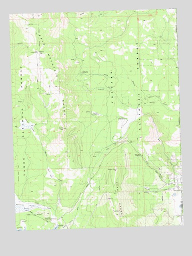 Dog Valley, CA USGS Topographic Map