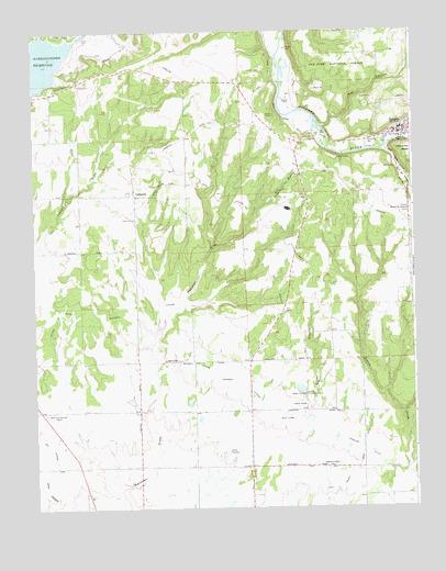 Dolores West Co Topographic Map Topoquest