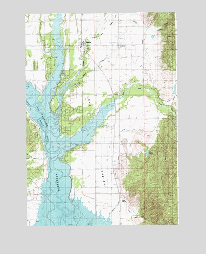 Donnelly, ID Topographic Map - TopoQuest on