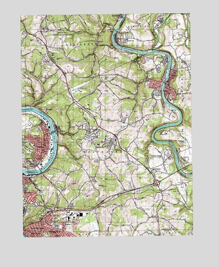 Donora Pa Topographic Map Topoquest