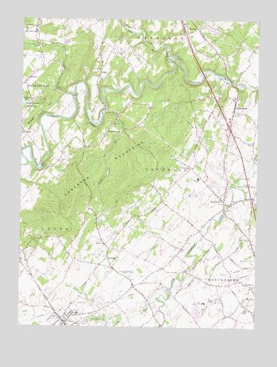 Dover PA Topographic Map  TopoQuest
