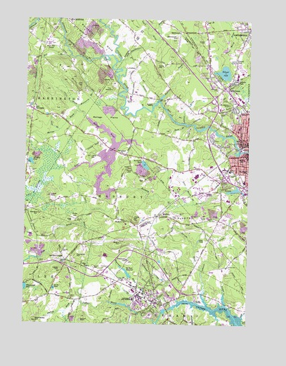 Dover West, NH Topographic Map - TopoQuest on