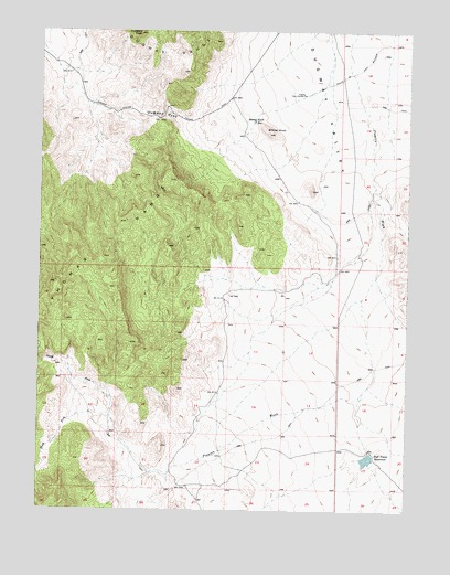 Dugway Pass, UT USGS Topographic Map
