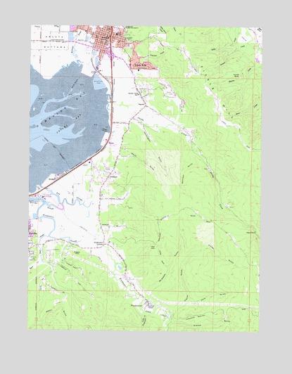 Arcata South Ca Topographic Map Topoquest