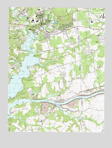 Elkton, MD USGS Topographic Map