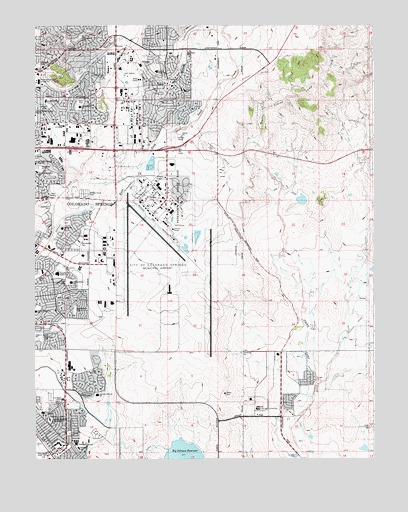 Elsmere, CO USGS Topographic Map