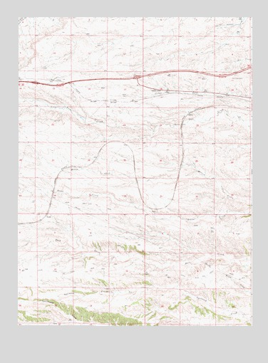 Emkay, WY USGS Topographic Map