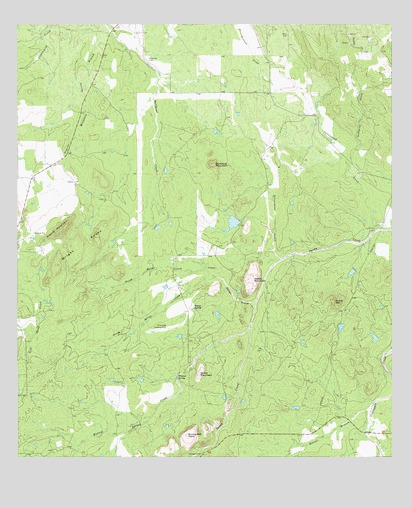 Enchanted Rock, TX USGS Topographic Map