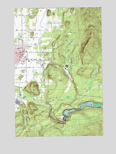 enumclaw wa topographic map topoquest