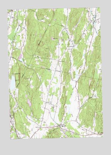 Essex Center Vt Topographic Map Topoquest