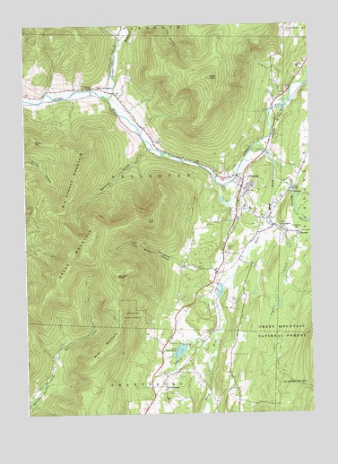 Arlington, VT USGS Topographic Map