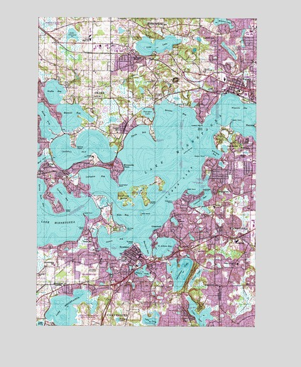 Excelsior, MN Topographic Map