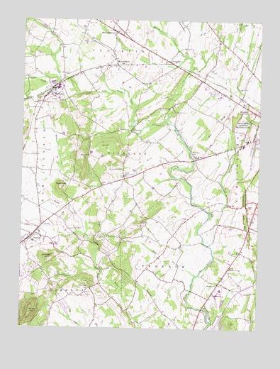 Gettysburg Topographic Map.Fairfield Pa Topographic Map Topoquest