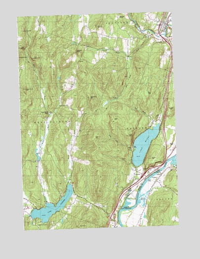 Fairlee, VT Topographic Map - TopoQuest
