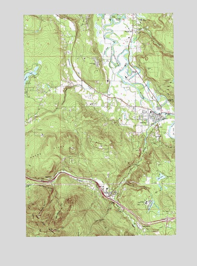 Fall City, WA USGS Topographic Map
