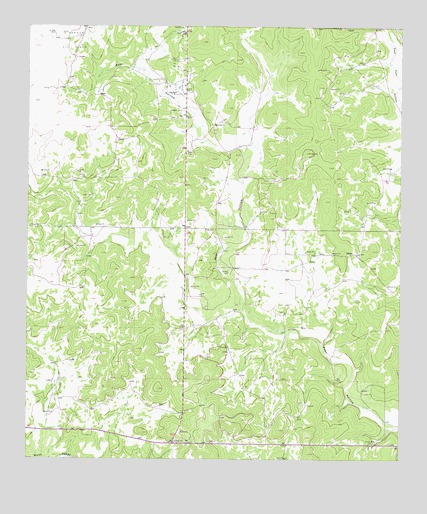 Adams, TX USGS Topographic Map