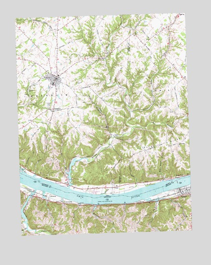 Felicity, OH USGS Topographic Map