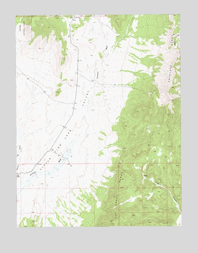 Fish springs ne nv topographic map topoquest for Fish springs nevada