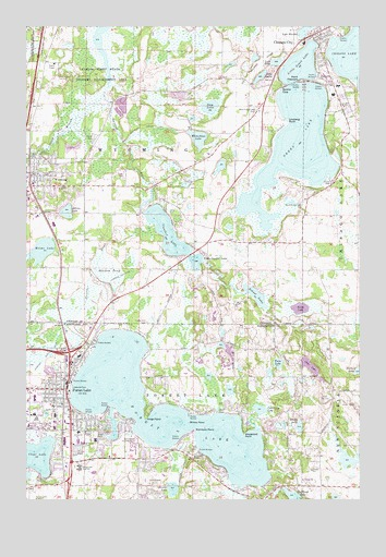 Forest Lake, MN Topographic Map - TopoQuest