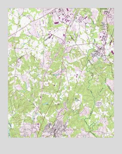 Fort Mill, SC USGS Topographic Map