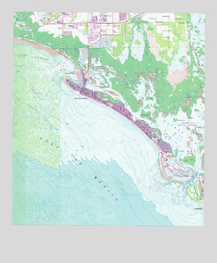 Fort Myers Beach FL Topographic Map  TopoQuest