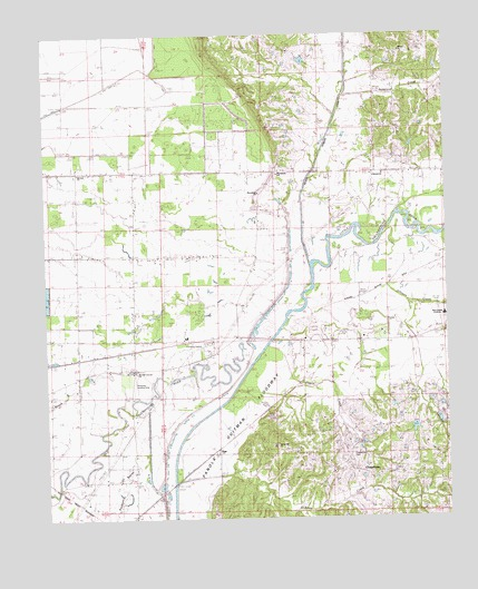 Asa, MS USGS Topographic Map