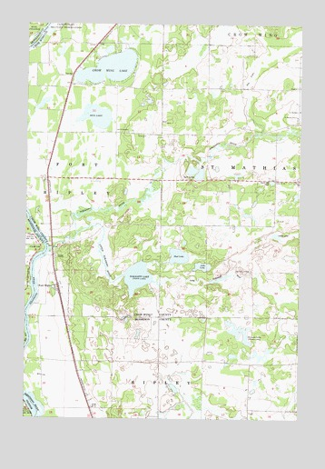 Fort Ripley, MN Topographic Map - TopoQuest on