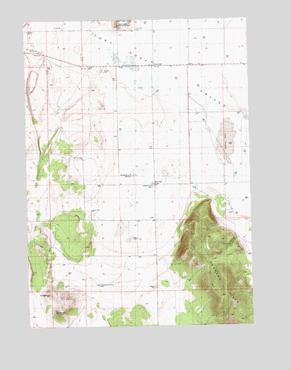 Fort Rock Or Topographic Map Topoquest