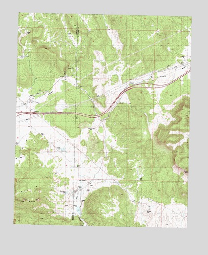 Fort Rock Ranch, AZ USGS Topographic Map